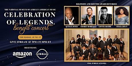 Celebration of Legends tickets