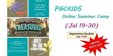PGCKIDS 2-wk Interactive Online Summer Camp 2021(First Timer Families Only) tickets