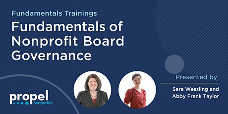Fundamentals of Nonprofit Board Governance tickets