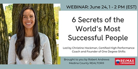 6 Secrets of the World's Most Successful People tickets