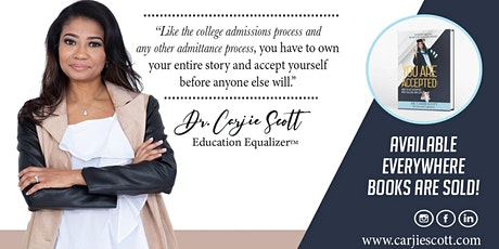 """Virtual Chat: """"You are Accepted: How to Get Accepted into College and Life"""" tickets"""