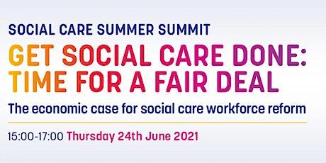 Social Care Summer Summit bilhetes
