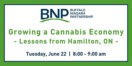 Growing a Cannabis Economy: Lessons from Hamilton, ON tickets