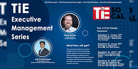 TiE Executive Management Series- Session 2 Tickets