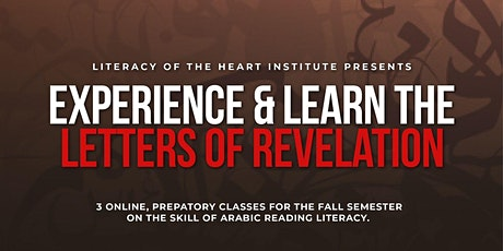 Experience & Learn the Letters Of Revelation tickets