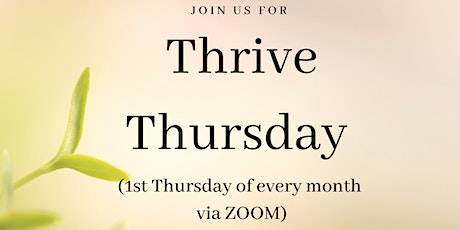 Thrive Thursday presented by West Consulting Firm tickets