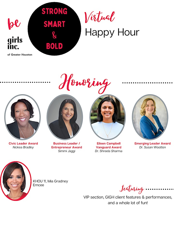 2021 Strong, Smart, & Bold Virtual Happy Hour image