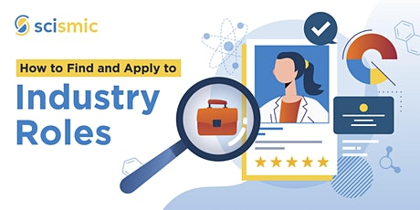 How to Find and Apply to Industry Roles tickets