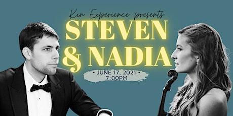 En Concert: Steven Massicotte & Nadia Monczak billets