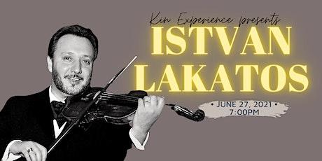 En Concert: Istvan Lakatos tickets
