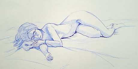 Online Guided Life Drawing with Tony tickets