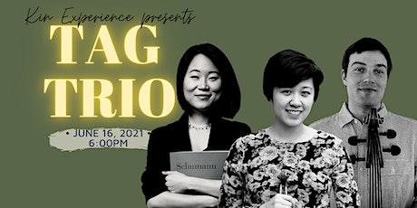 """En Concert: TAG Trio """"Elegy, Rhapsody & Fantasy"""" tickets"""