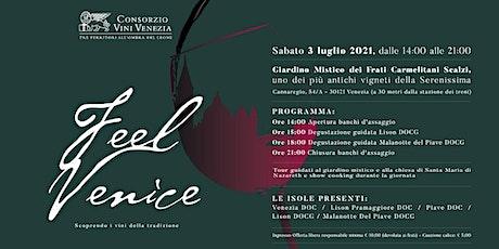 Feel Venice 2021: Scoprendo i vini della tradizione biglietti