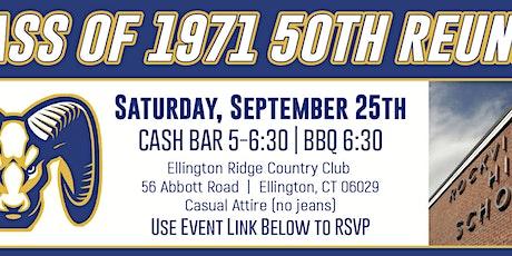 RHS 50th Reunion tickets