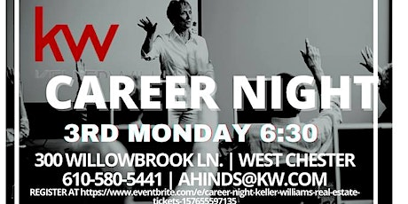 Career Night - Keller Williams Realty - West Chester tickets