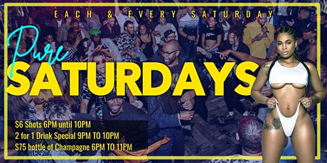 Pure Saturdays @ Pure Lounge | 2 for 1 Drink Special tickets