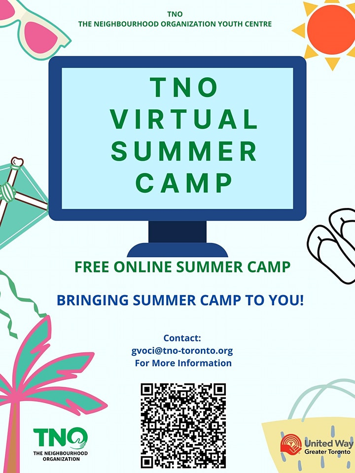 TNO Virtual Summer Camp image