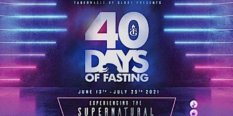 TG Boston - 40 Days Fast tickets