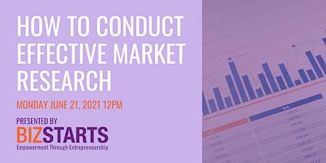 Market Research Webinar tickets