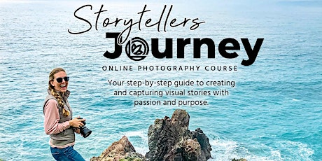 Storytellers Journey: Online Photography Course tickets
