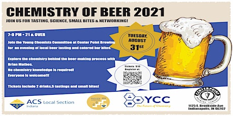 Chemistry of Beer 2021 ACS Indiana Local Section tickets