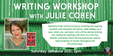 Pride in Writing 2021: Writing Workshop with Julie Cohen tickets
