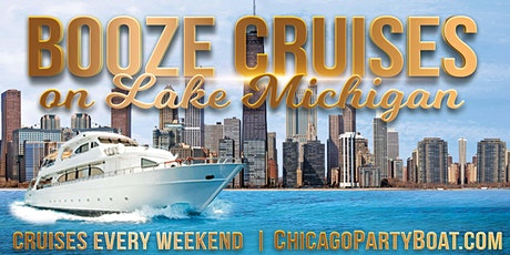Booze Cruises on Lake Michigan - Breathtaking Views of Chicago's Skyline! tickets