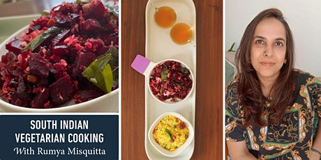 South Indian Vegetarian Cooking with Rumya Misquitta tickets