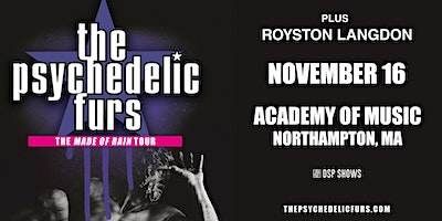 The Psychedelic Furs – Made Of Rain Tour 2021