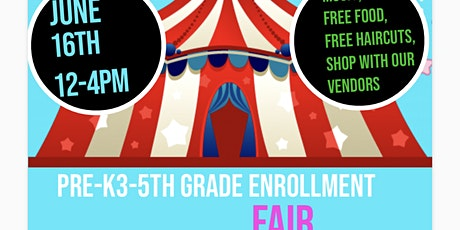 Garfield Elementary Open Enrollment Fair, Vendors Wanted tickets