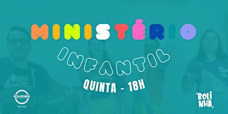 INFANTIL QUINTA (24/06) 19h30 ingressos