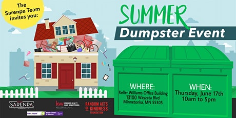 Spring Cleaning Dumpster Event tickets