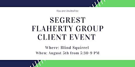 Segrest Flaherty Group Client Appreciation Event tickets