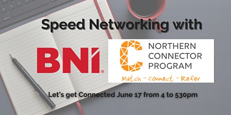 Speed Networkingwith Northern Connector– Let's get Connected tickets
