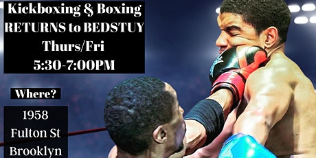 Bedstuy Kickboxing and Boxing Bootcamp tickets