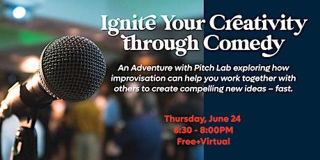 Ignite Your Creativity through Comedy: A Virtual Adventure tickets