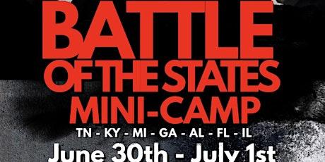 DGA  BATTLE OFTHE STATES  MINI CAMP tickets