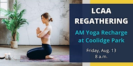 LCAA AM REGATHERING: Yoga Recharge tickets