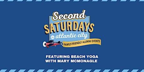 Second Saturdays: Beach Yoga! - Aug 14 tickets