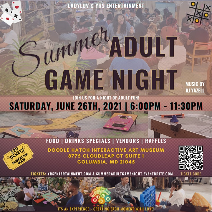 SUMMER ADULT GAME NIGHT image