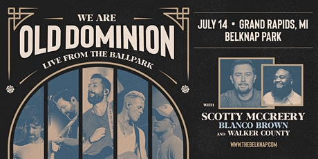 We Are Old Dominion: Live From The Ballpark Tour tickets
