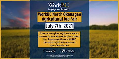 WorkBC North Okanagan Agricultural Job Fair tickets