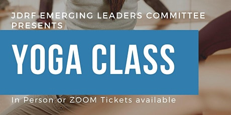 YOGA CLASS to benefit JDRF! tickets