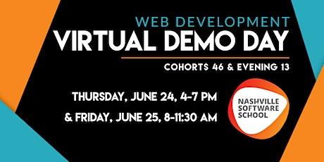 NSS Virtual Demo Day: Web Development Cohorts 46 & E13 tickets
