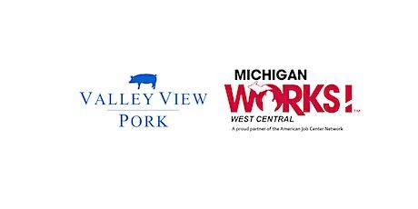 Virtual Job Fair for Valley View Pork tickets