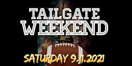Tailgate Weekend tickets