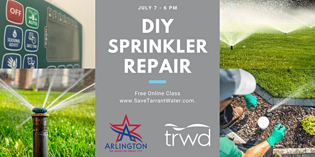 DIY Sprinkler Repair tickets