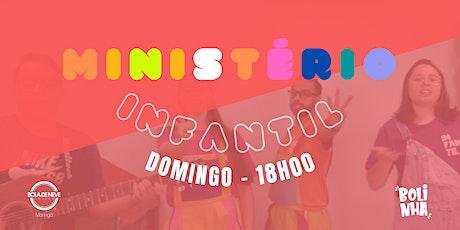 INFANTIL DOMINGO (13/06) 18H00 ingressos