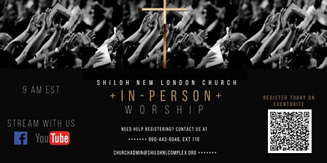 Shiloh New London: Sunday In-Person Worship Service tickets