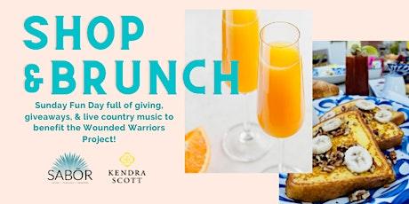 Shop & Brunch for a Cause with Kendra Scott & Sabor entradas